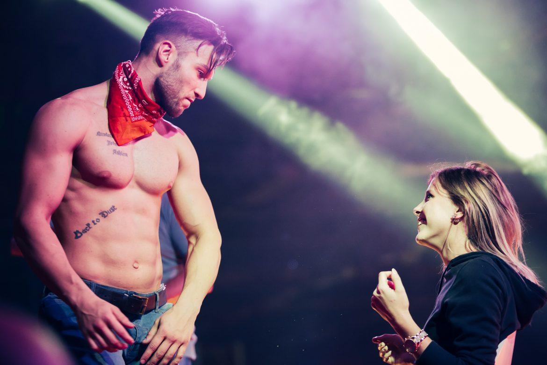 male strippers diet